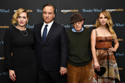 "Kate Winslet, Jim Belushi, Woody Allen and Juno Temple attend the ""Wonder Wheel"" screening at Museum of Modern Art on November 14, 2017 in New York City."