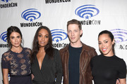 Actors  Nikki Reed, Lyndie Greenwood, Zach Appelman, Jessica Camacho, attend the Sleepy Hollow panel  at WonderCon 2016, Day 2 at Los Angeles Convention Center on March 26, 2016 in Los Angeles, California.