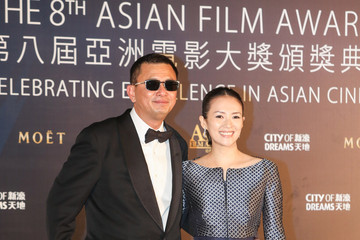 Wong Kar Wai Arrivals at the Asian Film Awards