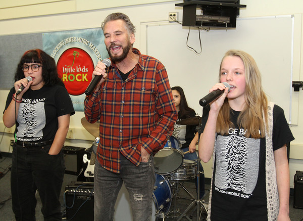 Rock Luminary Kenny Loggins to Help Kids 'Tear Up This Town' With Brand New Instruments