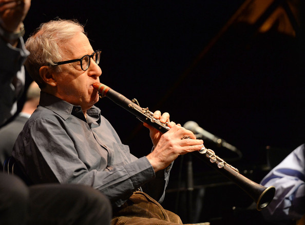 Woody Allen Performs a...