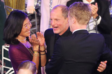 Woody Harrelson Laura Louie 24th Annual Screen Actors Guild Awards - Show