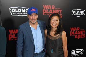 Woody Harrelson Laura Louie 'War for the Planet Of The Apes' New York Premiere - Inside Arrivals
