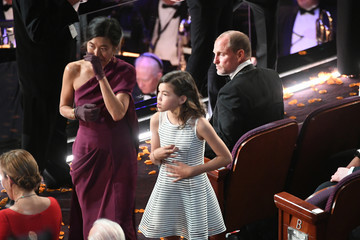 Woody Harrelson Laura Louie 90th Annual Academy Awards - Show
