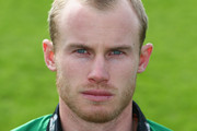 Alexei Kervezee of Worcestershire poses for a portrait wearing the Royal London One Day Cup kit during the Worcestershire CCC photocall at New Road on April 4, 2014 in Worcester, England.