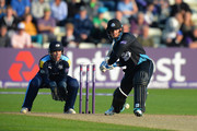 Alexei Kervezee of Worcestershire Rapids bats during the NatWest T20 Blast match between Worcestershire Rapids and Yorkshire Vikings at New Road on June 2, 2016 in Worcester, England.