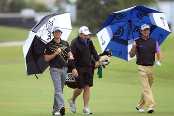 Rory McIlroy Graeme McDowell World Golf Championships-Cadillac Championship - Preview Day 3