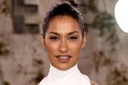 """Janina Gavankar attends the  World Premiere Of Apple TV+'s """"See"""" at Fox Village Theater on October 21, 2019 in Los Angeles, California."""