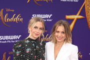 "Natasha Bure (L) and Candace Cameron-Bure attend the World Premiere of Disney?s ""Aladdin"" at the El Capitan Theater in Hollywood CA on May 21, 2019, in the culmination of the film?s Magic Carpet World Tour with stops in Paris, London, Berlin, Tokyo, Mexico City and Amman, Jordan."