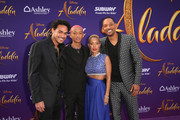 "(L-R) Trey Smith, Jaden Smith, Jada Pinkett Smith and Will Smith attend the World Premiere of Disney?s ""Aladdin"" at the El Capitan Theater in Hollywood CA on May 21, 2019, in the culmination of the film?s Magic Carpet World Tour with stops in Paris, London, Berlin, Tokyo, Mexico City and Amman, Jordan."