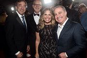 """(L-R) Producer Peter Del Vecho, Director Chris Buck, Director/writer/Walt Disney Animation Studios CCO Jennifer Lee, and Co-Chairman, The Walt Disney Studios Alan Bergman attend the world premiere of Disney's """"Frozen 2"""" at Hollywood's Dolby Theatre on Thursday, November 7, 2019 in Hollywood, California."""