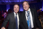"""(L-R) President of Walt Disney Animation Studios Clark Spencer and Producer Peter Del Vecho attend the world premiere of Disney's """"Frozen 2"""" at Hollywood's Dolby Theatre on Thursday, November 7, 2019 in Hollywood, California."""