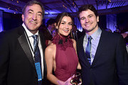 """(L-R) Producer Peter Del Vecho, actors Rachel Matthews and Jason Ritter attend the world premiere of Disney's """"Frozen 2"""" at Hollywood's Dolby Theatre on Thursday, November 7, 2019 in Hollywood, California."""