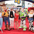 Casey Barker (L) and Saffron Barker attend the world premiere of Disney and Pixar's TOY STORY 4 at the El Capitan Theatre in Hollywood, CA on Tuesday, June 11, 2019.