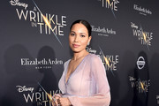 Actor Jurnee Smollett-Bell arrives at the world premiere of Disney's 'A Wrinkle in Time' at the El Capitan Theatre in Hollywood CA, March 26, 2018.
