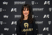 Actress Stephanie Stumph attends the world premiere of the new documentary 'Total Control - Im Bann der Seelenfaenger' (Total Control - Escaping Evil) by German TV channel A&E during the Seriencamp Festival 2018 at Hochschule fuer Fernsehen und Film (HFF) on November 11, 2018 in Munich, Germany.