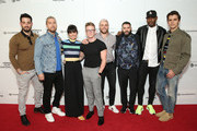(L-R) Michael Turchin, Lance Bass, Constance Zimmer, Tyler Oakley, Gus Kenworthy, Guillermo Díaz, Karamo Brown, and Antoni Porowski attend the World Premiere Of 'GAY CHORUS DEEP SOUTH' Documentary, Developed And Produced By Airbnb At The 2019 Tribeca Film Festival at Marriott Bonvoy Boundless Theatre on April 29, 2019 in New York City.