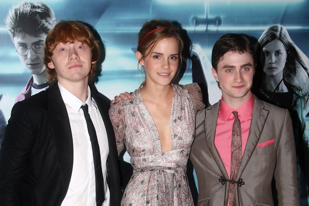 Daniel Radcliffe and 'Harry Potter' Co-Stars Among Britain ...