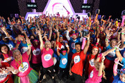 World Record Dance Marathon Relay Attempt For The Launch Of New Tesco Fundraiser