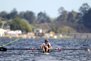 Graham Oberlin-Brown World Rowing Championships - Day 1