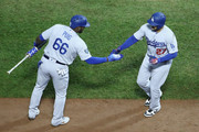 Matt Kemp Yasiel Puig Photos Photo