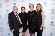 World of Children Co-Founder, Event Co-Chair Harry Leibowitz,  President of U.S. Fund for UNICEF Caryl Stern,   World of Children Co-Founder, Event Co-Chair Kay Isaacson Leibowitz and CEO, Jefferson Awards Foundation Hillary Schafer attend World of Children Awards 2017 at 583 Park Avenue on November 2, 2017 in New York City.
