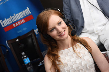 Wrenn Schmidt SiriusXM's Entertainment Weekly Radio Channel Broadcasts From Comic-Con 2016 - Day 3