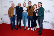 Michael Fassbender Sophie Turner Photos Photo