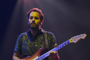 Guitarist Eric Cannata of Young the Giant performs during X107.5's Holiday Havoc 2014 show at The Joint inside the Hard Rock Hotel & Casino on December 11, 2014 in Las Vegas, Nevada.