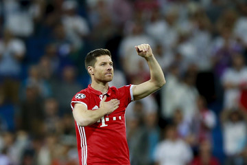Xabi Alonso Real Madrid CF v FC Bayern Muenchen - UEFA Champions League Quarter Final: Second Leg