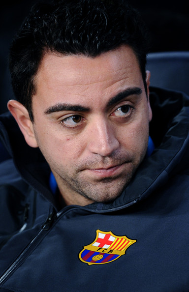 Photo Xavi Hernandez 2013 تشافي
