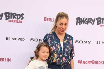 Xenia Seeberg SONY Premiere of 'Angry Birds - Der Film' in Berlin