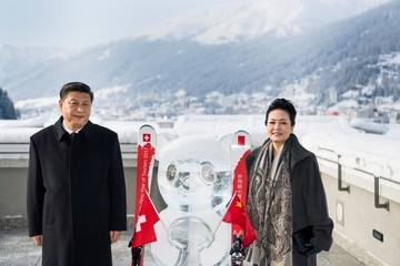 Xi Jinping China's Xi Says No One Will Win Trade War at Davos World Economic Forum