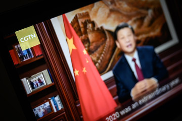 Xi Jinping Ofcom Revokes Broadcast License of  Chinese state-owned TV Channel CGTN