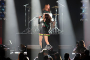 Singer Charli XCX performs onstage during Y100's Jingle Ball 2014 at BB&T Center on December 21, 2014 in Miami, FL.