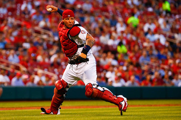 Yadier Molina Washington Nationals  v St Louis Cardinals