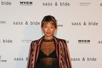 Yan Yan Chan Sass & Bide - Arrivals - Mercedes-Benz Fashion Week Australia 2017