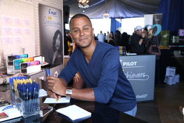Yanic Truesdale PILOT PEN & GBK's Pre-Emmy Luxury Lounge - Day 2