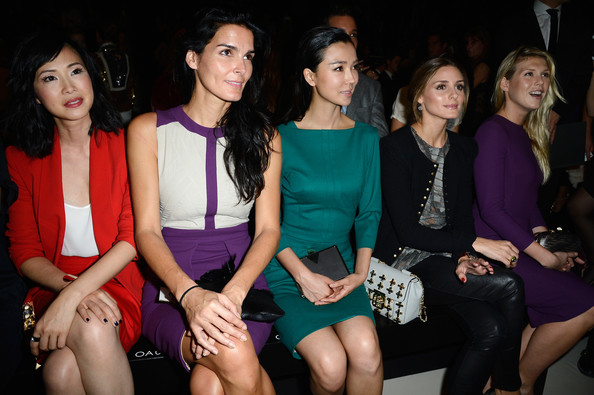 PFW Front Row at Elie Saab Xingtong Yao