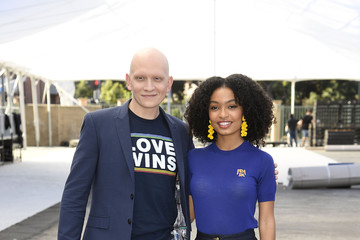 Yara Shahidi Anthony Carrigan The 25th Annual Screen Actors Guild Awards - Silver Carpet Roll-out