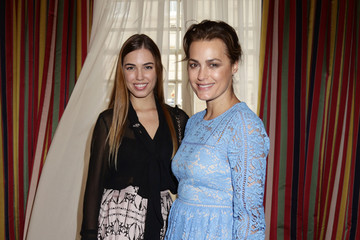 Yasmin Le Bon Amber Le Bon The Prince of Wales and Duchess Of Cornwall Launch 'Travels To My Elephant' Rickshaw Race