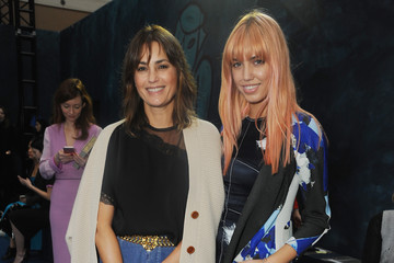 Yasmin Le Bon Front Row & Celebrities: Day 4 - LFW AW16