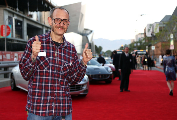 "Photographer Terry Richardson attends ""Yessss!"" MOCA Gala 2013, celebrating the opening of the exhibition Urs Fischer - Ferrari at MOCA Grand Avenue on April 20, 2013 in Los Angeles, California."