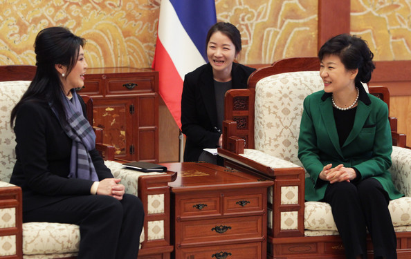 Park Geun-Hye Inargurated As First Female President Of South Korea