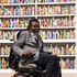 "Yinka Shonibare Photos - Yinka Shonibare ahead of the opening of his installation ""The British Library"" at Tate Modern on April 8, 2019 in London, England. - Yinka Shonibare Installation 'The British Library' At Tate Modern"