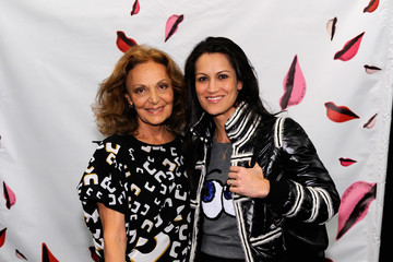 Yliana Yepez Diane Von Furstenberg - Backstage - Fall 2013 Mercedes-Benz Fashion Week