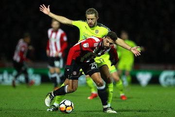 Yoann Barbet Brentford v Notts County - The Emirates FA Cup Third Round