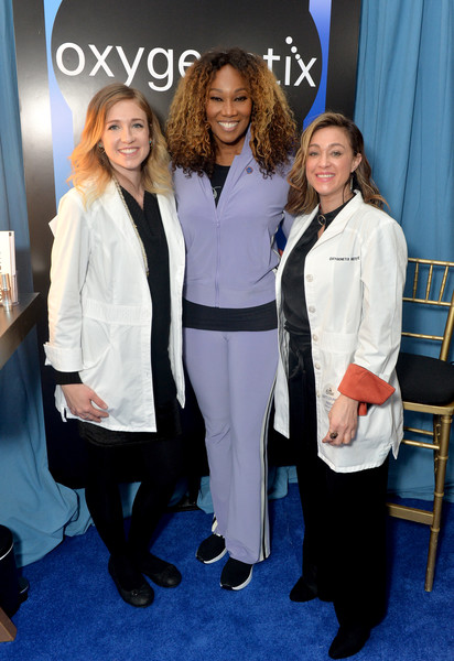 61st Annual GRAMMY Awards - GRAMMY Gift Lounge - Day 2 [suit,event,uniform,pantsuit,fashion,formal wear,outerwear,premiere,white-collar worker,grammy gift lounge,yolanda adams,grammy,gift lounge,california,los angeles,staples center,annual grammy awards]