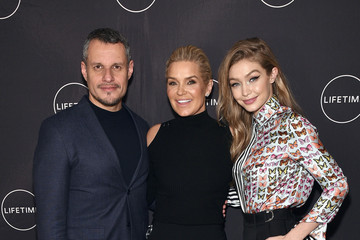 """Yolanda Hadid Yolanda Hadid Celebrates Her Birthday And The Premiere Of Her New Lifetime Show, """"Making A Model With Yolanda Hadid"""" With Friends And Family In New York"""