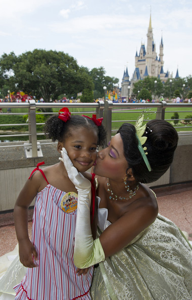 Martin Luther King III, Wife Andrea And Daughter Yolanda Visit Disney World